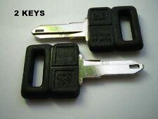 2 CLASSIC PEUGEOT 205 KEY BLANK clés CLEF LLAVE 309 405 MI16 GTI CTI RENAULT 4 5