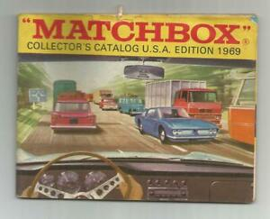 THREE MATCHBOX CATALOGS - 1969, 1970, 1978