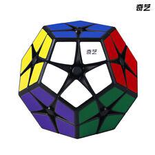 QiYi 2x2 Megaminx Speed Magic Cube Puzzle Toy Black