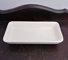 Vintage Lufthansa German Airlines Porcelain Hors D'Oeuvres Serving Dish Cream