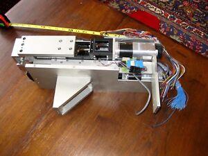 Lot SPN Robotic Pin Inserter Implanter Pneumatics THK KR Strain SMC MDHR2-15