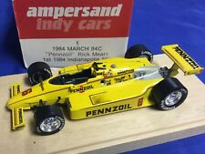 Indianapolis Indy 500 1984 RICK MEARS March AMPERSAND FACTORY Build NEW 1/43