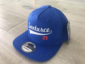 NEW CANGREJEROS SANTURCE 21 PUERTO RICO BORICUA BLUE SNAPBACK CAP HAT 1sz ADJUST