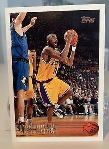 1996-97 Topps Kobe Bryant RC #138 Rookie Card Lakers HOF - Free Ship Please Read