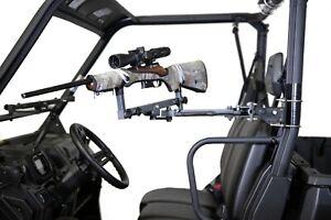 SmartRest - UTV Side Mount Gun Rest - UTV Gun Rest and Storage Rack