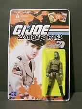"""Custom GI Joe figure and package of """"Zombie Wars"""" the KING undead crooner ELVIS"""