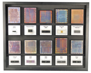 Ten of The First Microprocessors - Intel 4004, MOS 6502, AMD 2901, etc.