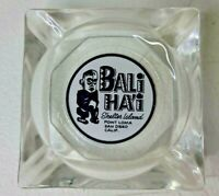 Vintage Bali Hai Shelter Island Point Loma San Diego CA Ashtray Pointed Corners