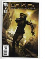 DEUS EX: HUMAN REVOLUTION #3 DC COMICS