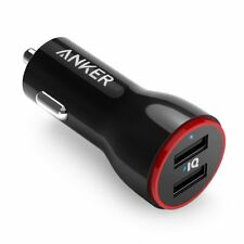 Anker Japan 24W 2-Port Power Drive Car Charger Adapter iPhone/iPad/Xperia/GALAXY