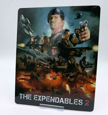 THE EXPENDABLES 2 - Glossy Bluray Steelbook Magnet Cover (NOT LENTICULAR)