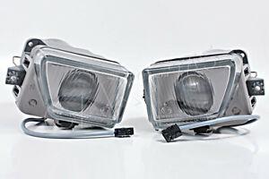 Fog Driving Lights Lamps PAIR Fits Mercedes E SL Class W124 W129 1990-1995 AL
