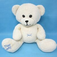 Chad Valley cream My First Teddy bear comforter baby soft toy plush Woolworths