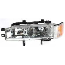 For Accord 92-93, Driver Side Headlight, Clear Lens