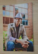 ORIGINAL Autogramm von Keb`Mo`. pers. gesammelt. 20x30 FOTO 100% ECHT