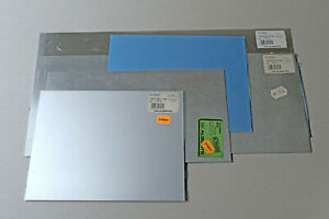 Wedico Konvolut - 5 ALU-Bleche 200x500x0,8mm + 2..x200x1,0mm