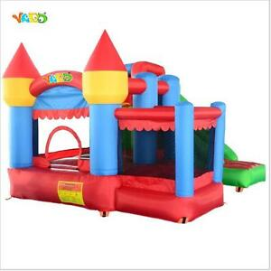 Residential Nylon Bouncy Castle Inflatable Slide Combo Bounce House Jumping Joy