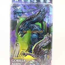 "NECA Gorilla Alien W Face Hugger 7"" Action Figure Aliens Doll Statue Series 10"