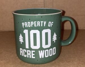 Winnie The Pooh Property Of 100 Acre Wood 20 Ounce Camper Mug NEW