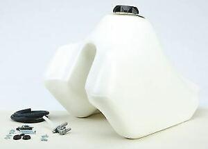 IMS Oversized 4.9 Gallon Fuel Gas Tank WHITE | Suzuki DR650 1996 - 2015