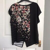 Next Floral Blouse Size 10