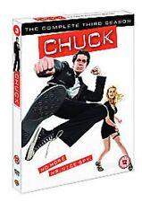 CHUCK - Series 3 (2010) All Episodes Third Season 5Disc Set New Sealed UK R2 DVD