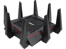 Asus Certified RT-AC5300 Wireless AC5300 Tri-Band MU-MIMO Gigabit Router, AiProt