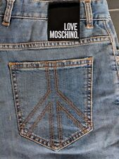 LOVE MOSCHINO Jeans  W33 L32 - Brand New With Tags! Very Rare - Free P&P!!!