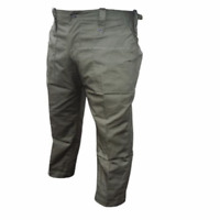 British army surplus lightweight olive green fatigue trousers Grade 1