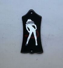 Truss Rod Cover with She Devil Inlay 02 will fit Gibson