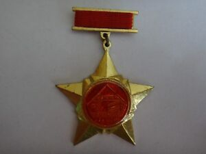 """Vietnam Vc Médaille """" pour Les Development De Construction """" VI Su Nghiep Xay"""