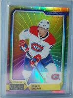 2018-19 O-Pee-Chee Platinum Rainbow Color Wheel #102 Max Domi Montreal Canadiens