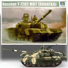 TRUMPETER 1/35 RUSSIAN T-72B2 MBT (ROGATKA) KIT 09507
