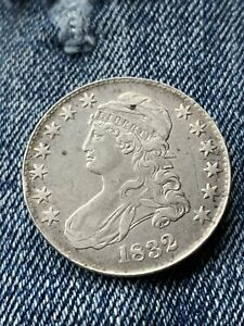 1832 Bust Liberty Half Dollar 50 Cent Silver US Coin United States