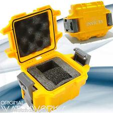 NEW! Invicta YELLOW 1-Slot Hard Scuba Diver Box / Case For Venom,SA Noma III IV