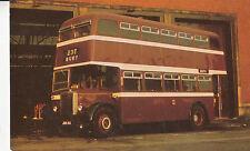 CD40.Postcard.Bus. 1956 Leyland Titan.