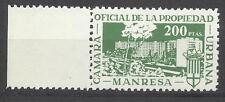 5231-SELLO MNH FISCAL LOCAL ANTIGUO  CORPORATIVO MANRESA CAMARA PROPIEDAD URBANA