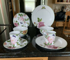 8 Pieces Spode Home ROSES Butterflies Flowers Portmeirion Group