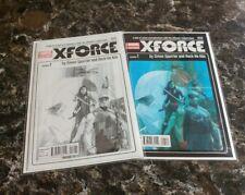X-Force #1 Phil Noto Sketch & Color Variant set (NM-/NM)