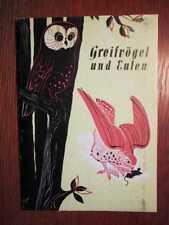JAGD - Greifvögel und Eulen - Merkblätter für die jagdliche Praxis (1959)