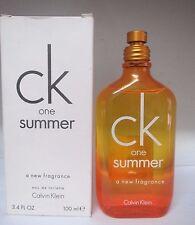 CK One Summer 2010 by Calvin Klein Eau De Toilette Spray  3.4 Fl Oz UNISEX