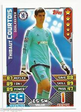 2015 / 2016 EPL Match Attax Base Card (56) Thibaut COURTOIS Chelsea