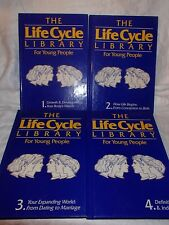4 Book Set~The Life Cycle Library For Young People by Parent & Child Book, 1987
