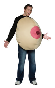 Adult Giant Boob Funny Rude & Naughty Novelty Stag Night Fancy Dress Costume