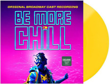 Be More Chill Joe Iconis Broadway Recording Yellow Colored 2x Vinyl LP Record