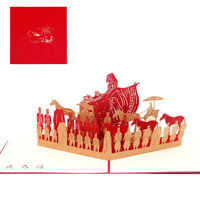 Terracotta Warriors of the World Wonders Paper Invitation Greeting Postcards S