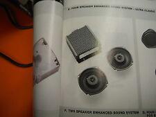 HARLEY DAVIDSON TWO SPEAKER ENHANCED SOUND SYSTEM-AMPLIFIER-P/N 77192-02