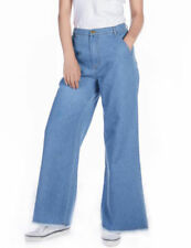 Machine Washable Regular Size Wide Pants for Women