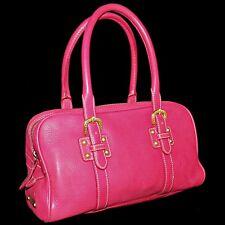 Dooney and Bourke Lipstick Pink Marchesa Arnella Leather Duffel Satchel Handbag