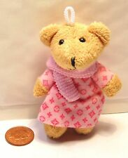 1:12 Scale Single Different Soft Clothed Teddy Bear Toy Accessory Dolls House
